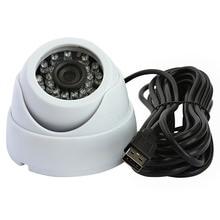 480P Free driver color cmos usb 2.0 Day&Night vision mini cctv ir dome usb camera usb webcam