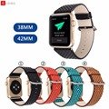 For Apple Watch Leather Strap 38mm 42mm High Quality For iwatch Band for Apple Smart Watches Watchbands Fashion Wave Point Strap