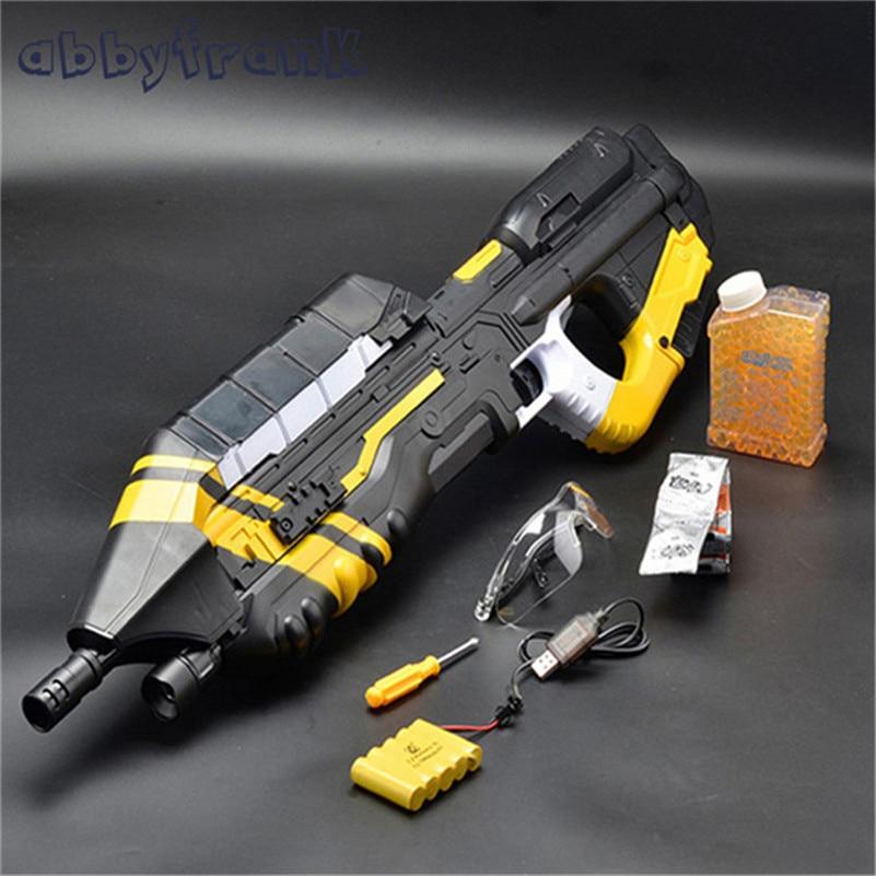 Abbyfrank MA5C Electric Toy Gun Machine Gun With Halo Water Bullet Bursts Gun Battle CS Gun Sniper Rifle Kids Outdoors Toys футболка toy machine breeding water black