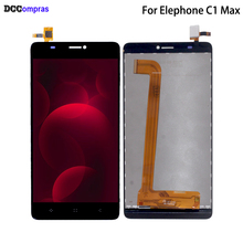 For Elephone C1 Max LCD Display Touch Screen Original Digitizer For Elephone C1 Max Display Screen LCD Assembly HD Screen цены