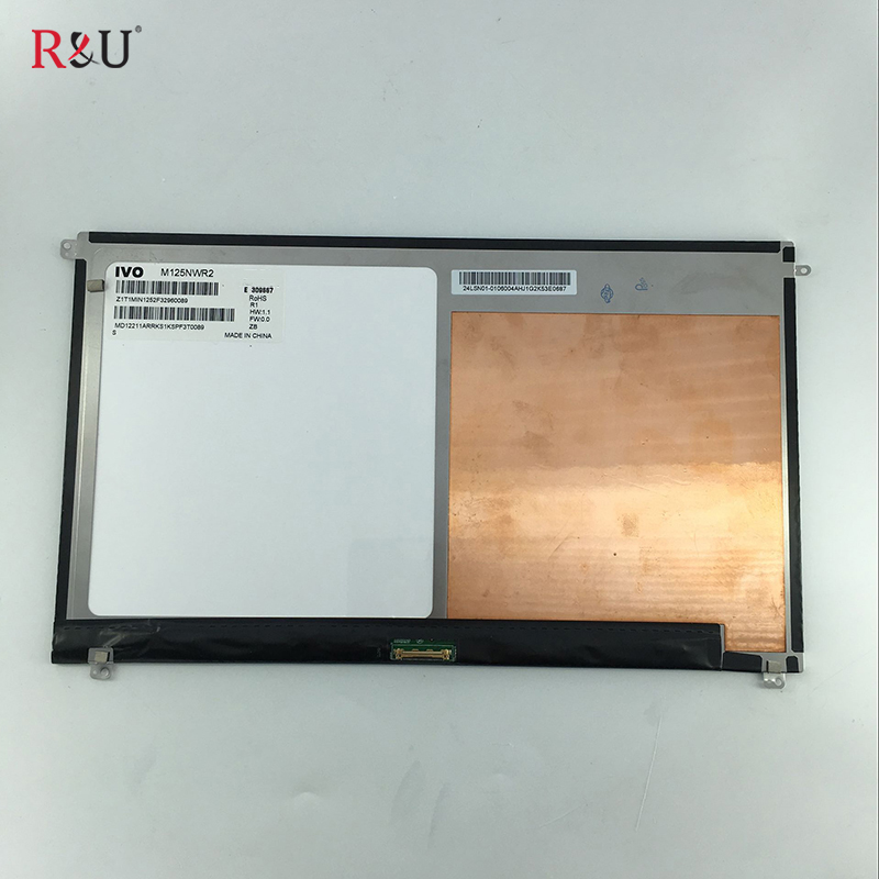 12.5 inch 1366*768 M125NWR2 LCD Display Screen inner screen replacement parts for Asus T300FA quying13 3 laptop lcd screen n133bge l41 rev c3 1366 768 40pin for asus s300c s300 notbook replacement display