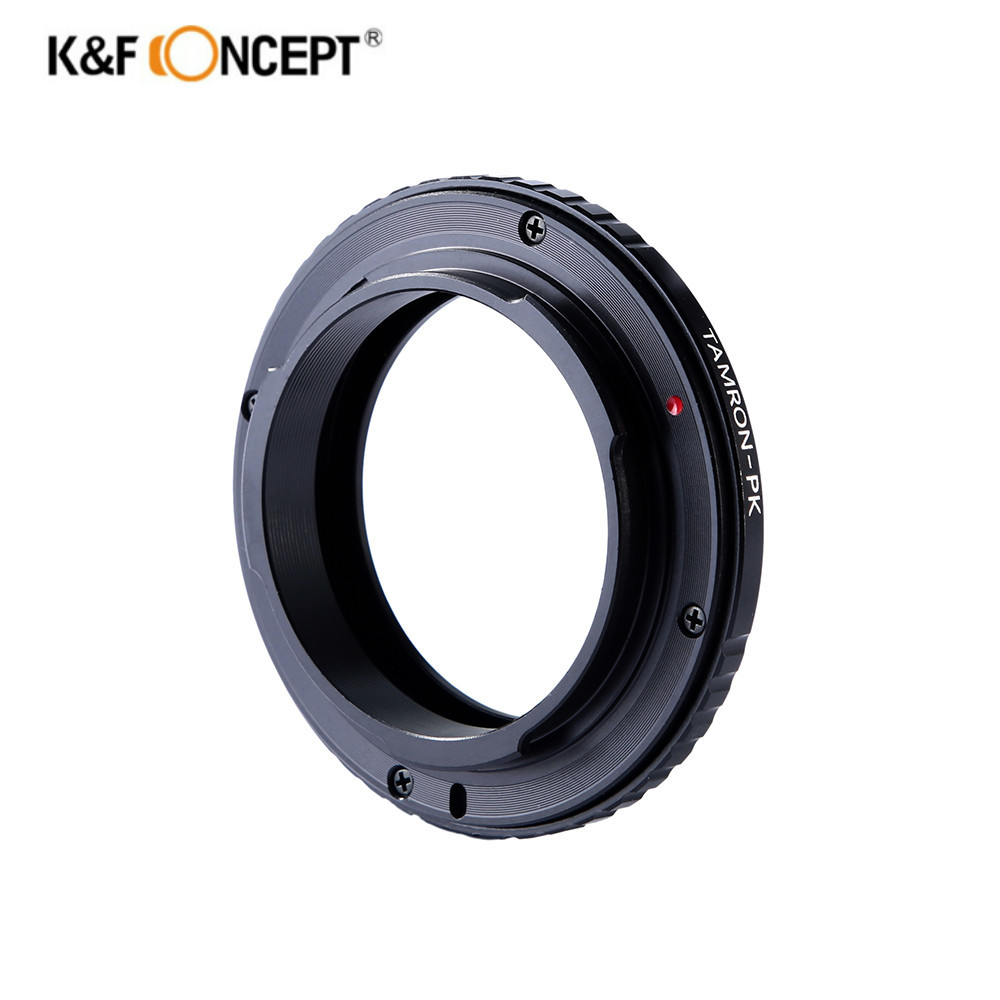K F Concept lens adapter Ring Tamron Adaptall 2 Lens to Pentax PK Mount Camera Body
