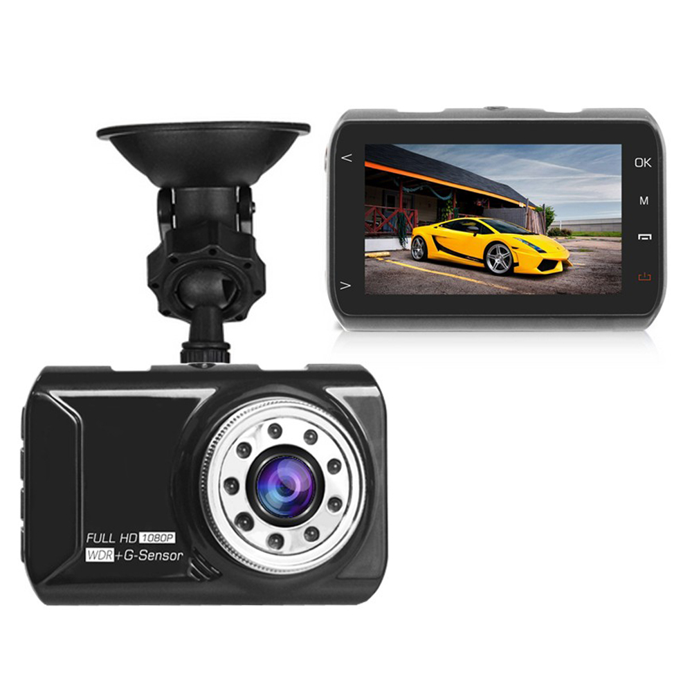 Novatek 96223 Car DVR Car font b Camera b font Dash cam 3 inch 1080P 170