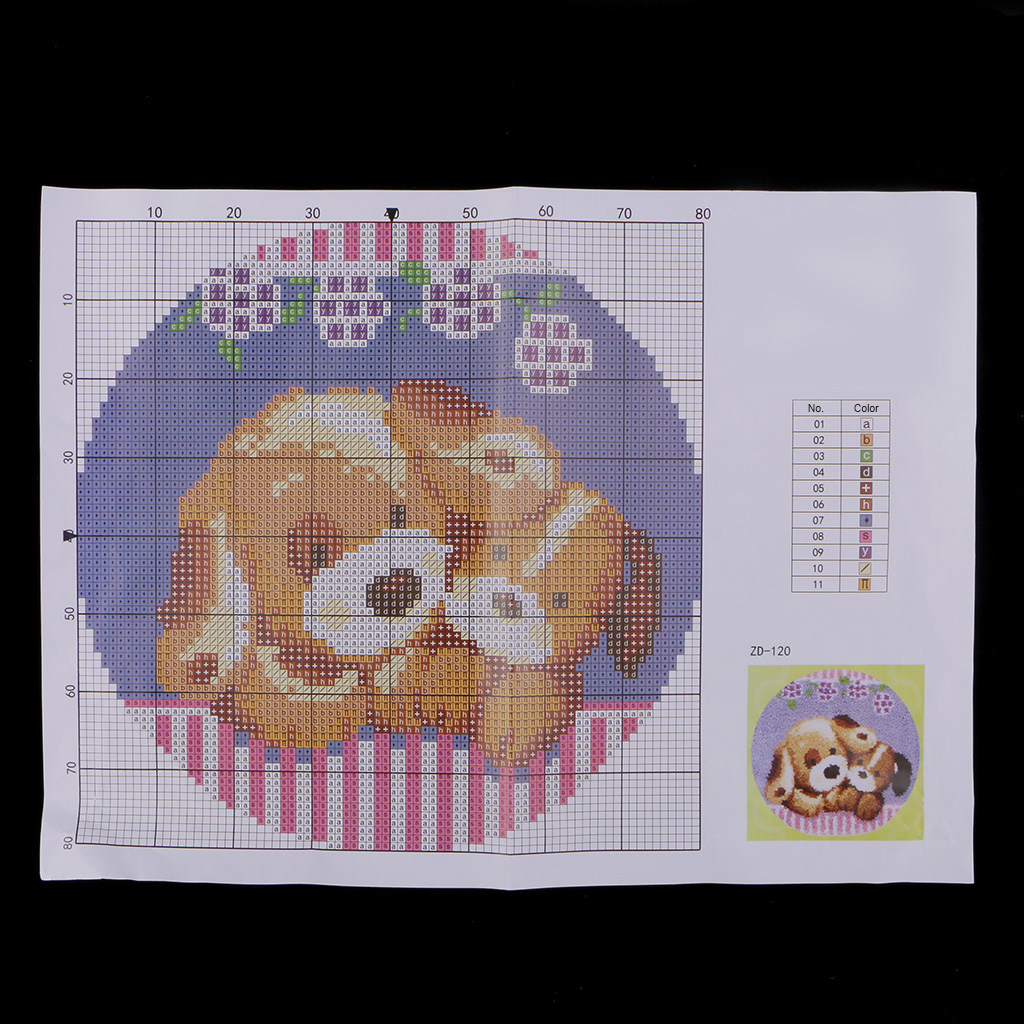 Us 28 6 44 Off 2 Sets Latch Hook Rugs Kits For Beginners Ladybird Dogs Cushion Diy Craft Needle Embroidery Round In From Home Garden On