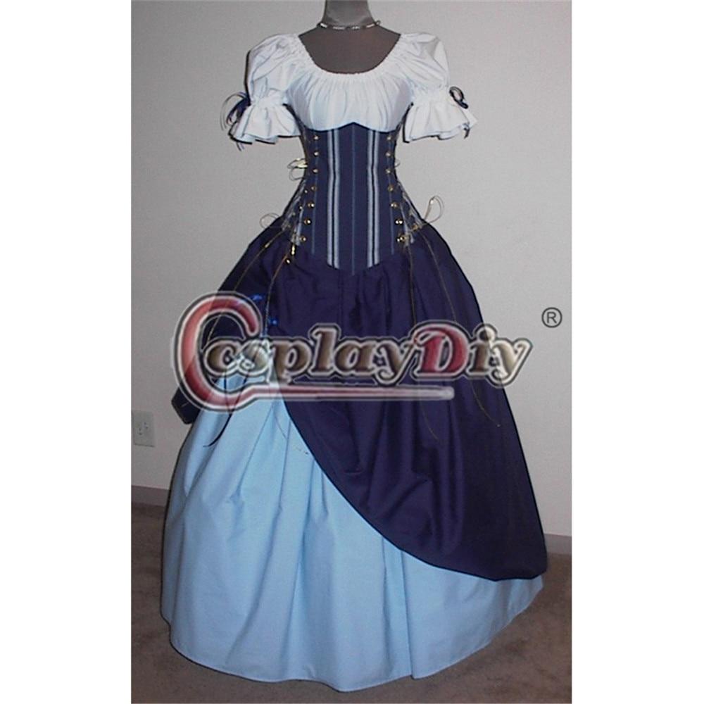 Twilight Maiden Medieval Fancy Dress Victorian Halloween Adult Ball ...