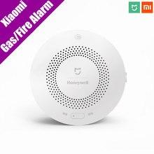 Оригинальный Xiaomi mijia Honeywell газ/детектор дыма дистанционного Fire announciator Progressive Sound mihome Дистанционное управление App