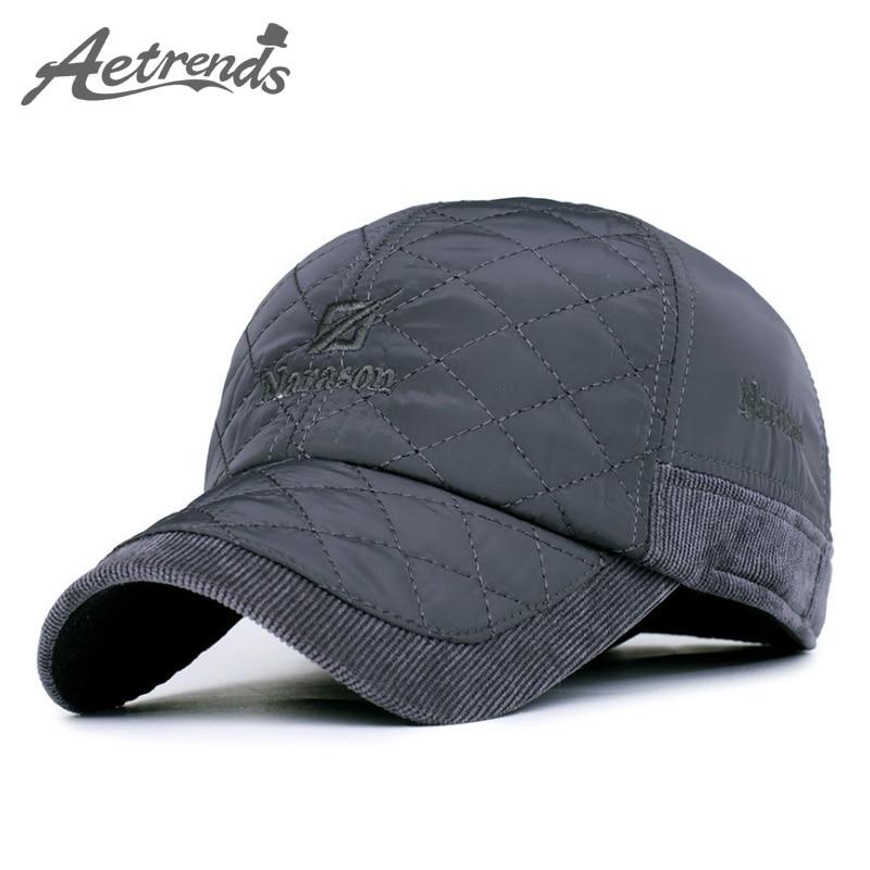 2016 new winter baseball cap outdoor sport thick warm