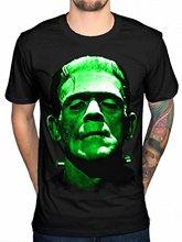 Official Plan 9 Frankenstein Head T-Shirt Vlad Dracula Wolfman Mummy 2018 New Summer Men Hot Sale Fashion Male Battery T Shirt