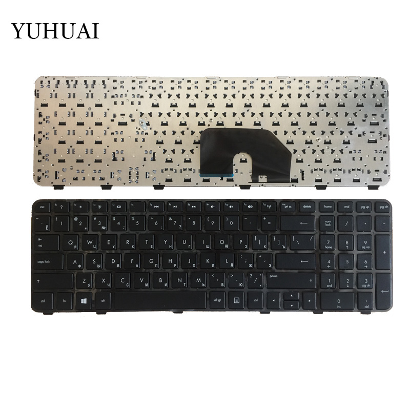 Russian RU  laptop Keyboard for HP Pavilion DV6 DV6T DV6-6000 DV6-6100 DV6-6200 DV6-6b00 dv6-6c00 Black NSK-HWOUS OR 665937-251 laptop keyboard for dexp for atlas h107 h108 h110 h117 h118 h119 black without frame ru russian