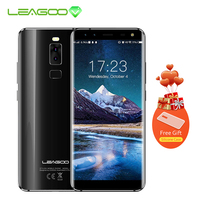 LEAGOO S8 5.72 Inch 18:9 Display Android 7.0 MTK6750T Octa Core Smartphone 3GB RAM 32GB 13MP 4 Cameras Fingerprint 4G Phone