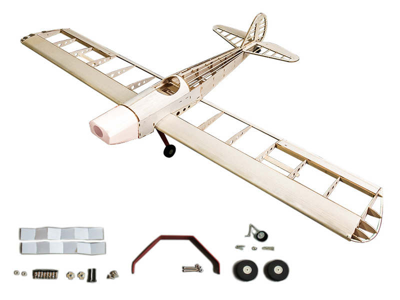 Balsa Wood Airplane Model Space Walker 1230mm Wingspan Both Gas Power and Electric Power can be used Woodiness model /WOOD PLANE aaa balsa wood sheet balsa plywood 500mmx130mmx2 3 4 5 6 8mm 5 pcs lot super quality for airplane boat diy free shipping