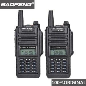Image 1 - 2 pièces dorigine Baofeng IP67 BF A58 Marine étanche talkie walkie double bande Woki Toki Radio bidirectionnelle Amador UV 9R émetteur récepteur Hf