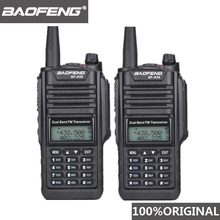 2 stücke Original Baofeng IP67 BF A58 Marine Wasserdichte Walkie Talkie Dual Band Woki Toki Zwei Weg Radio Amador UV 9R Hf transceiver