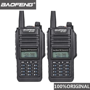 Image 1 - 2pcs Original Baofeng IP67 BF A58 Marine Waterproof Walkie Talkie Dual Band Woki Toki Two Way Radio Amador UV 9R Hf Transceiver