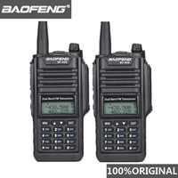 2pcs Original Baofeng IP67 BF-A58 Marinha Woki Toki Walkie Talkie Dual Band Rádio Em Dois Sentidos À Prova D' Água UV-9R Amador Hf transceptor