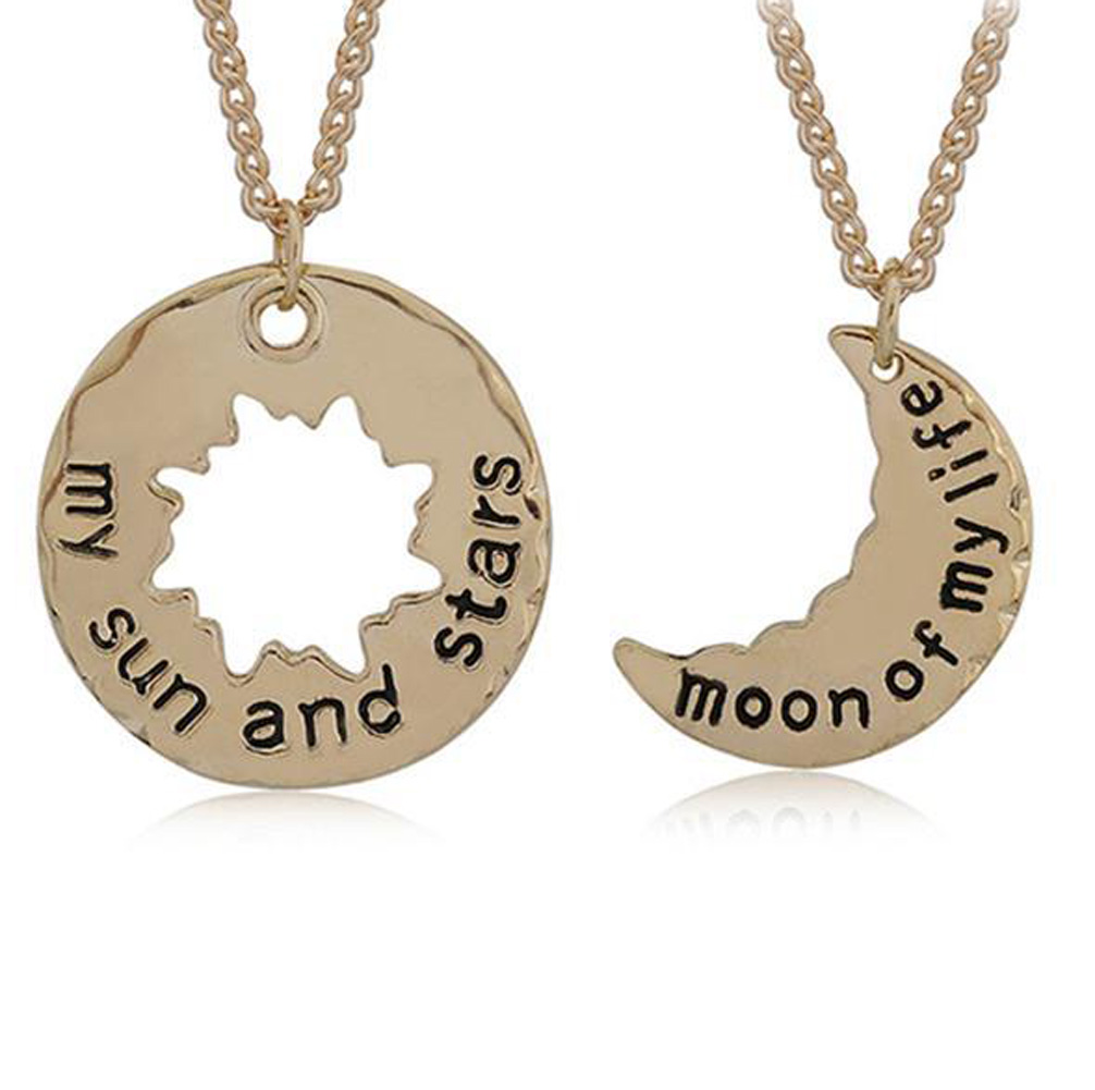 A Song of Ice and Fire Necklace My Sun and Stars Moon of My Life Pendant Long Necklace Collar Fashion Jewelry