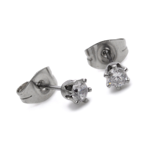 Mens female Jewelry wholesale Stainless Steel Mens Earrings E310