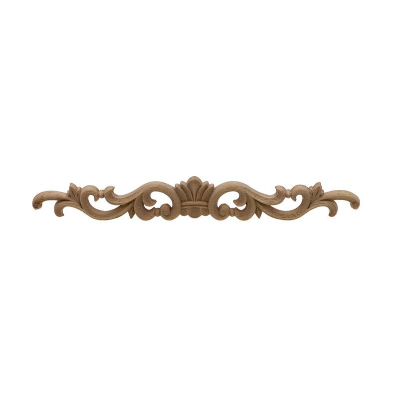 VZLX Wood Applique Wooden Carved Corner Oak Woodcarving Decal For Home Decoration Accessories Modern Furniture Door Decor Crafts