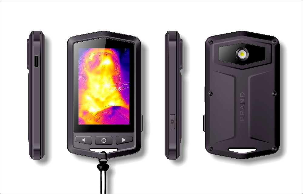 2018 New Sortie P1 Portable IR Caméra Thermique XE-P1 Infrarouge Imagerie Caméra