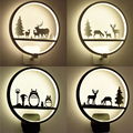Lampe Schlafzimmer Nacht FÜHRTE Wand Lampe Gang Treppen LED Beleuchtung Kinder Zimmer Kreative Lampen Wandleuchter Wohnzimmer Wand Licht-in LED-Innenwandleuchten aus Licht & Beleuchtung bei