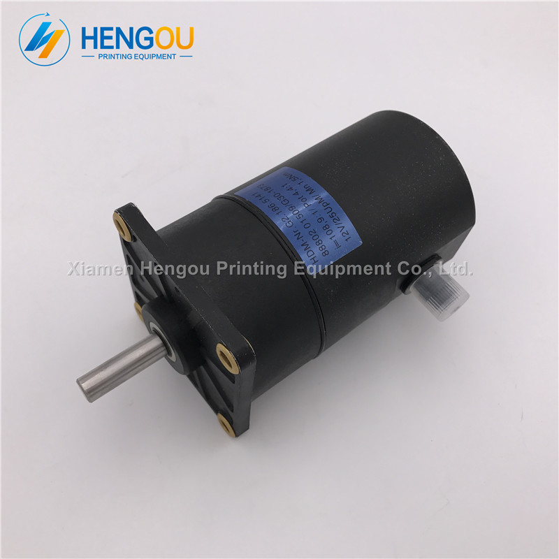 где купить 1 Piece China post free shipping Motor G2.186.5141 for Heidelberg SM52 PM52 Printing Machine Heidelberg motor 12V дешево