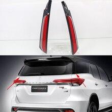 Car Flashing Led rear driving light Taillight Led Brake Lights rear bumper lamp warning light For Toyota Fortuner 2015   2020
