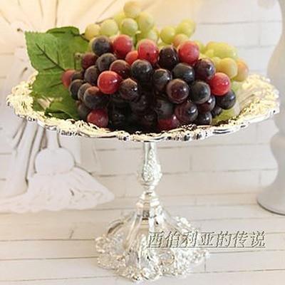 European fashion, wrought iron fruit bowl cake wearing western ...