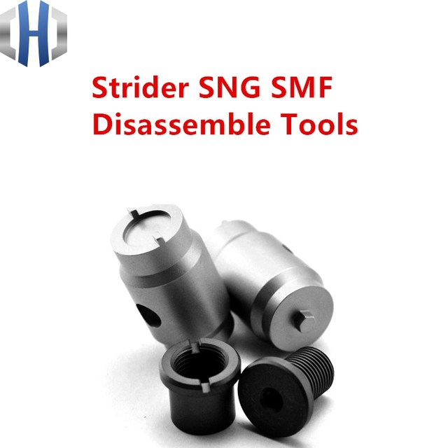 Strider SNG SMF Disassembly Tool ST Disassembly Tool Threader Screwdriver Wrench Stainless Steel EDC Knife  Removal Tool