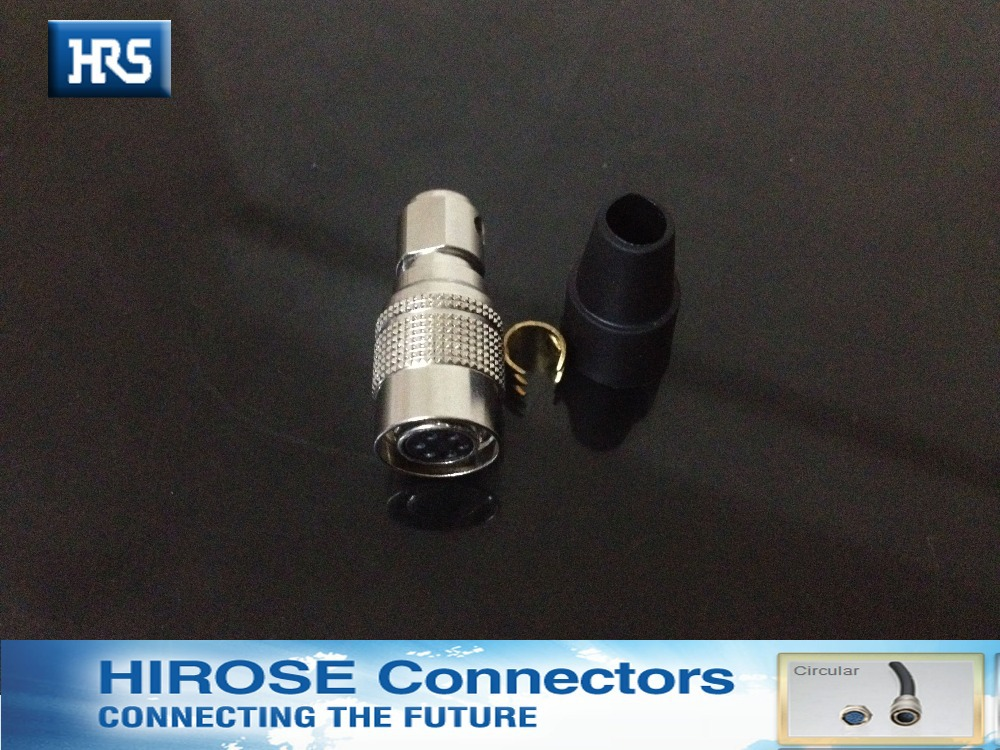 Hirose connector HR10A -7P-6S/HR10A-7R-6P,Security cameras, industrial special connector, cable plug self-locking connector