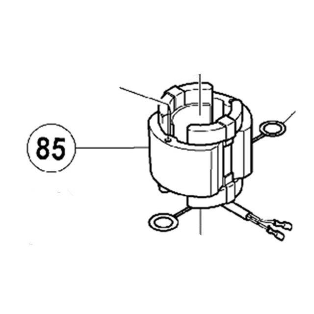 Genuine Stator Assy 220v 230v For Hitachi 340542e Dh40fr Dh40sr