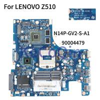 KoCoQin Laptop motherboard For LENOVO Z510 Mainboard AILZA NM A181 90004479 SR17E N14P GV2 S A1 2G