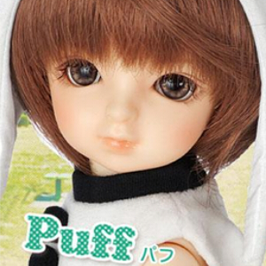 1/6  26CM BJD doll nude Puff/Papi,BJD/SD doll boy & girl include face up..not include Clothes; wig;shoes and access&ies 1 4 bjd dollfie girl doll parts single head include make up shang nai in stock