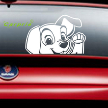 2017 Pegatinas car stickers Cute Dog DIY vehicle Body Emblem Badge car styling Sticker car-covers personality auto accessories