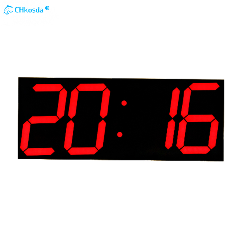3D LED Wall Clock Modern Digital Table Desktop Alarm Clock Nightlight Wall Clock Home Decoration Living Room Digital Watch