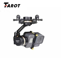 High Quality Tarot TL3T05 for Gopro 3DIV Metal 3 Axis Brushless Gimbal PTZ for Gopro Hero 5 for FPV System Action Sport Camera
