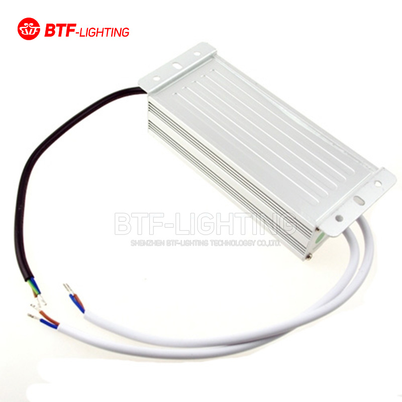ФОТО DC 12V 80W IP67 Waterproof Electronic LED Driver Transformer Power Supply Aluminum alloy AC 90-250V to 12V Free Shipping