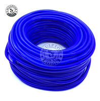 Mangueira de tubo de vácuo de silicone combustível/ar mangueira de vácuo/linha/tubo/tubo 50 metro id 6mm/6*10mm
