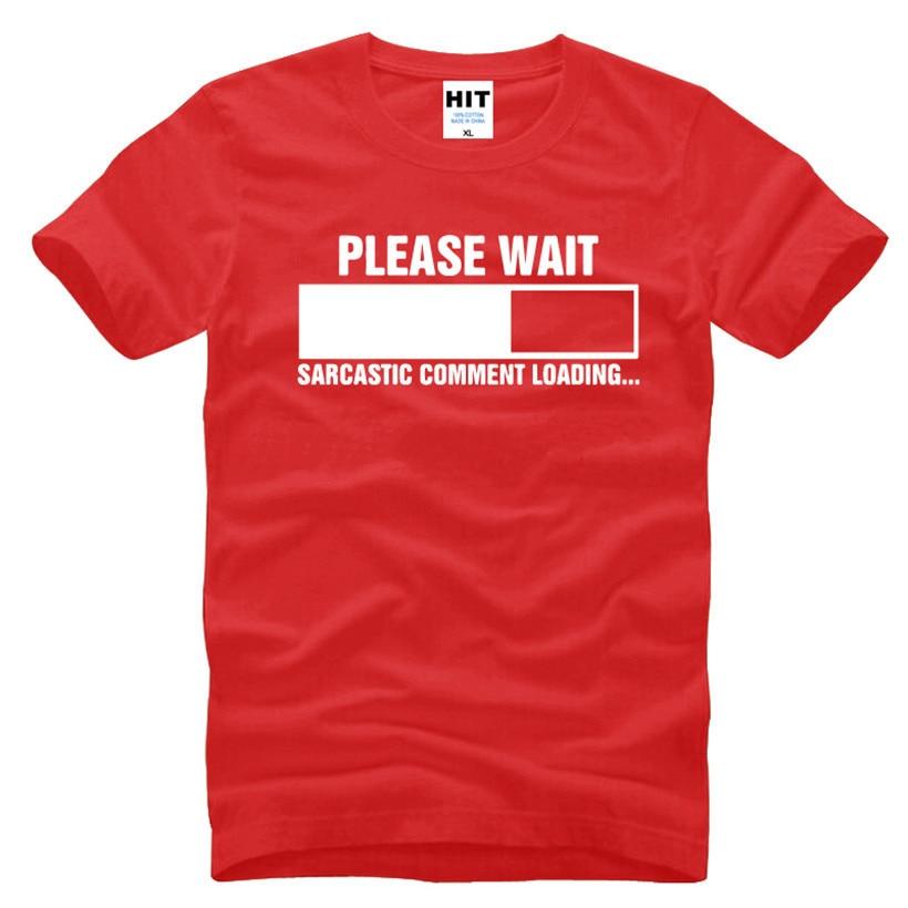 Sarcastisk kommentar Loading Geek Nerd Mænds Funny T-Shirt T-Shirt - Herretøj - Foto 4