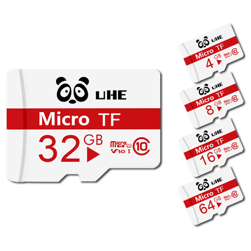 Class 10 Micro Sd Card 64GB 32GB  16GB 8GB  4GB TF Card Memory Card High Quality Microsd Flash Usb Mini Pen Drive Card