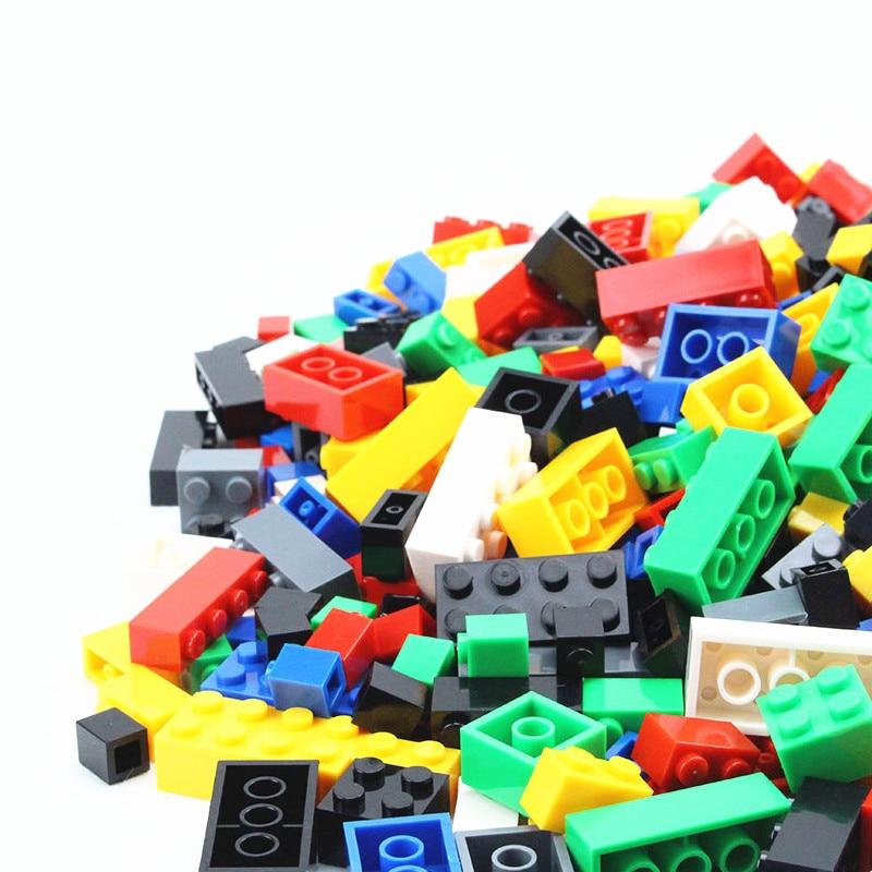 Building Blocks 1000pcs DIY City Creative Bricks Toys model Compatible Educational Bulk Bricks Gift for Children 80pcs 2x2 basic high bricks 2 2 4 holes diy building blocks toys