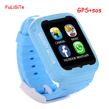 Kids GPS Watch K3 LBS Tracker Clock Waterproof Smart MTK2503 Child Support SIM Card With Camera MP3 phone
