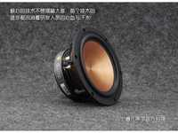 2PCS AIRS FR-65YL-M 6.5inch Midrange Speaker Driver Unit Aluminum Ceramic Mixed Cone Casting Aluminum Frame 4/8ohm 100W D175mm