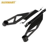 Auxmart Black Upper Windshield 50 Inch Offroad Curved Led Light Bar Holder Mounting Brackets For Toyota
