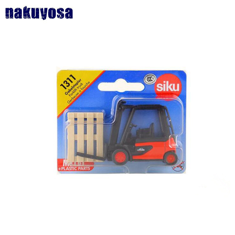 Siku 1311 Toy/Diecast Metal Model/Forklift Engineering Truck Car/Educational Collection/Gift For Children/Small 7.5*4.5*2.5CM