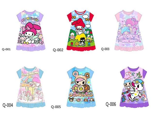01da01e2fcd2 Pre order Wholesale Girls Cartoon Pajamas 2018 Kids Sleepwear ...