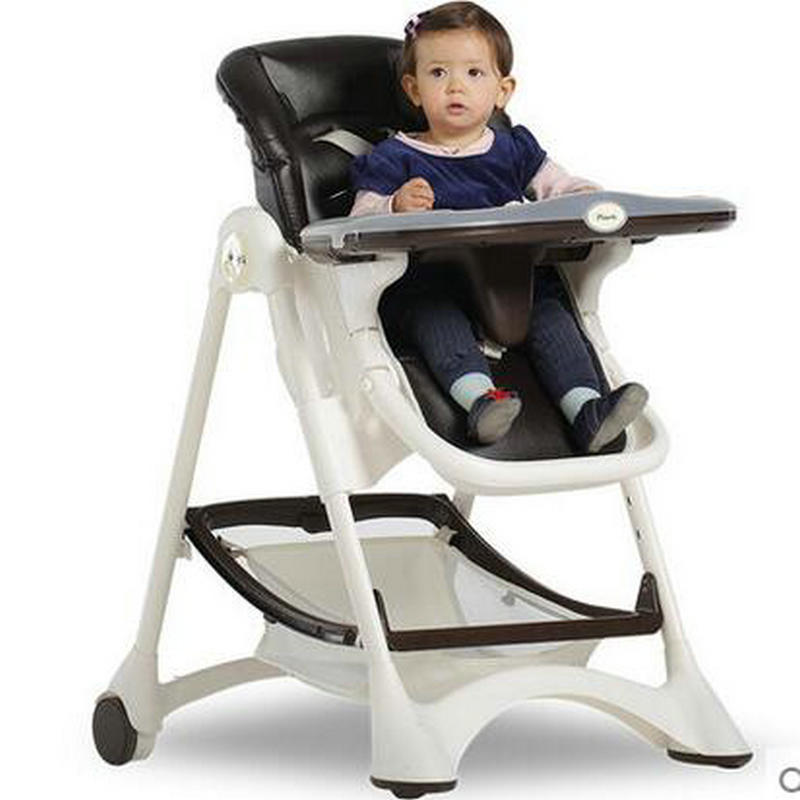Fold baby feed chair, eatable plate baby highchair, portable dining table, heighe can adjust baby feed chair soft portable baby feed chair gift pillow and rope 4wheels baby booster seat light baby feed chair
