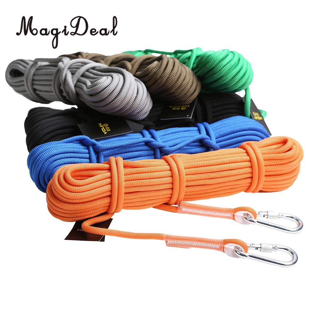 MagiDeal 12KN 9.5mm Outdoor Safety Rescue Escape Climbing Rope Access Cord Camping Travel Kit Equipment Expedition Application