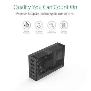 Image 4 - Настольное зарядное устройство ORICO, 5 портов, USB, мобильный телефон, зарядное устройство для путешествий, зарядное устройство для iPhone, Samsung, Xiaomi, EU, US, UK, настольное зарядное устройство