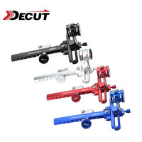 1Set Archery Bow Sight Compound Bow Sight With 4x/6x/8x Lens Pin Visier Aluminum Alloy Compound Bow Hunting Shooting Accessories