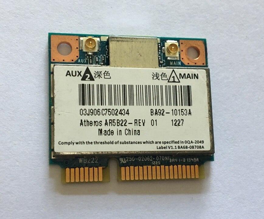 SSEA Verwendet Drahtlose Karte für Atheros AR5B22 2,4g/5,0 ghz 300 Mbps Wireless WiFi Bluetooth 4,0 Halb Mini PCI-E getestet gut